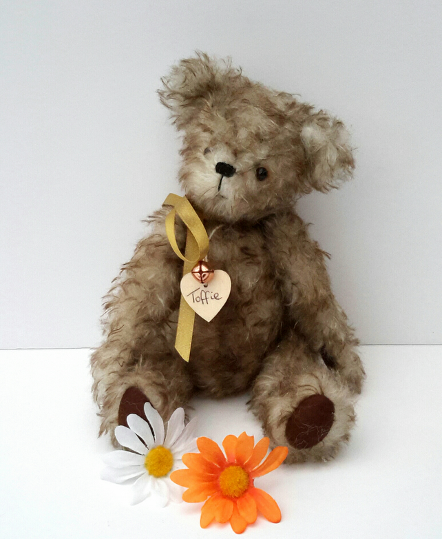 Luxury Mohair Bear, Collectable Artist Bear by Bearlescent. Teddy Bear