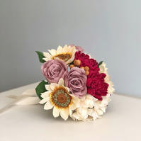 Paper Flower Autumn Bouquet