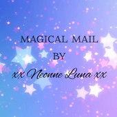 Magical Mail by Neonne Luna