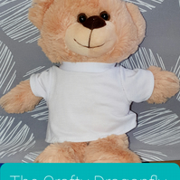 Blonde Teddy Bear for Personalisation