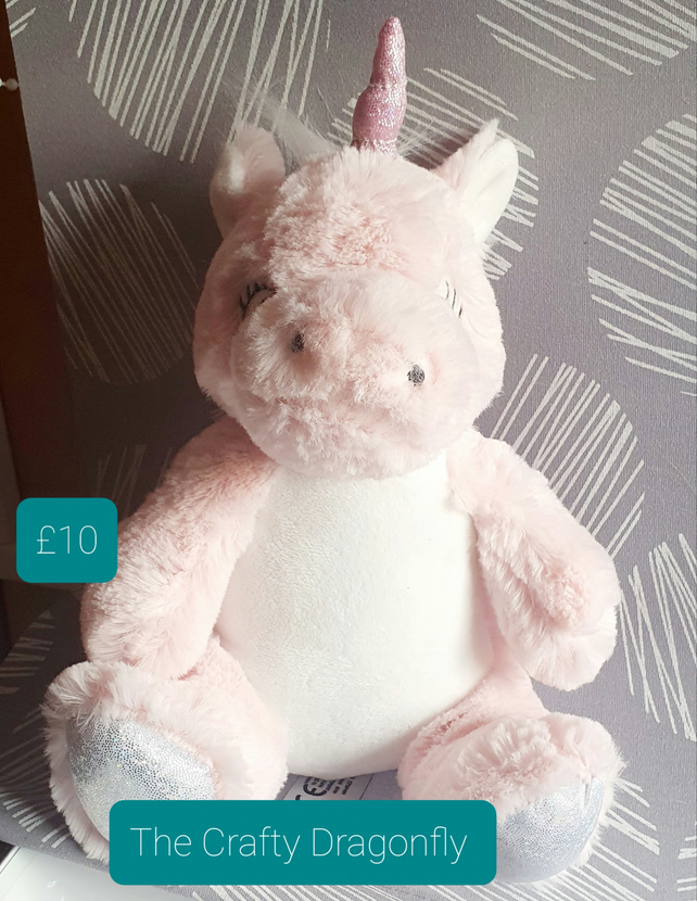 Cuddly Unicorn for Personalisation