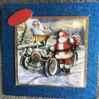 Decoupage Christmas Card