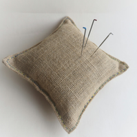 Plastic free jute and buckwheat felting pad and needles - MEDIUM