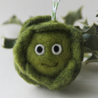 Sproutastic! Needle felted sprout decoration