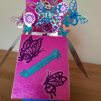 Handcrafted Cards - Handmade Box Cards - Special Occasion Cards