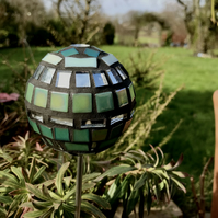 Mosaic Garden Ornament - Green - Available now!