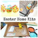 Fused Glass Easter Make at Home Kit, suitable for all ages