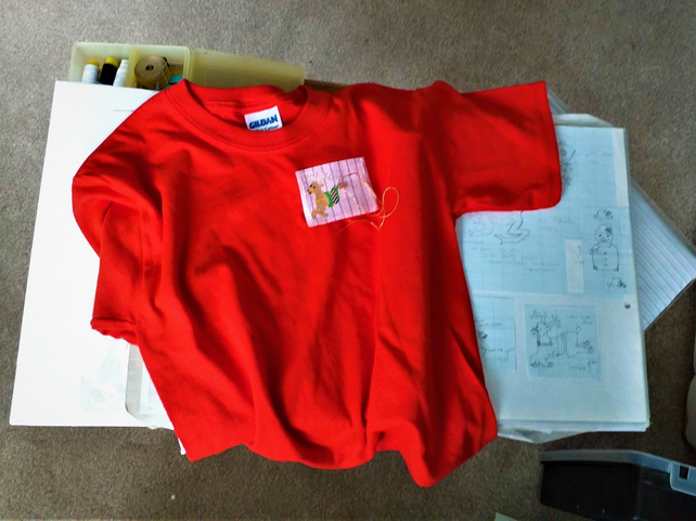 Christmas T-shirt Age 6 (XS youth)