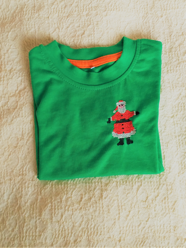 Father Christmas T-shirt Age 12-18 Months