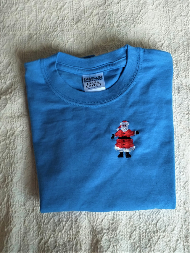Father Christmas T-shirt Age 6 Years