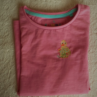 Duckling T-shirt age 4-5
