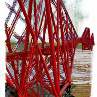 Forth Rail Bridge (red)