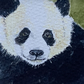 Watercolour of a Panda ACEO - free UK postage