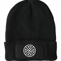 FatCuckoo -  Celtic Shield Knot Unisex Winter Thinsulate Beanie Hat