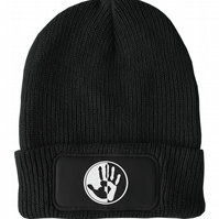 FatCuckoo -  Stop Racism Hand of Love Unisex Winter Thinsulate Beanie Hat
