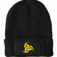 FatCuckoo -  Horn of Odin, Norse God Unisex Winter Thinsulate Beanie Hat