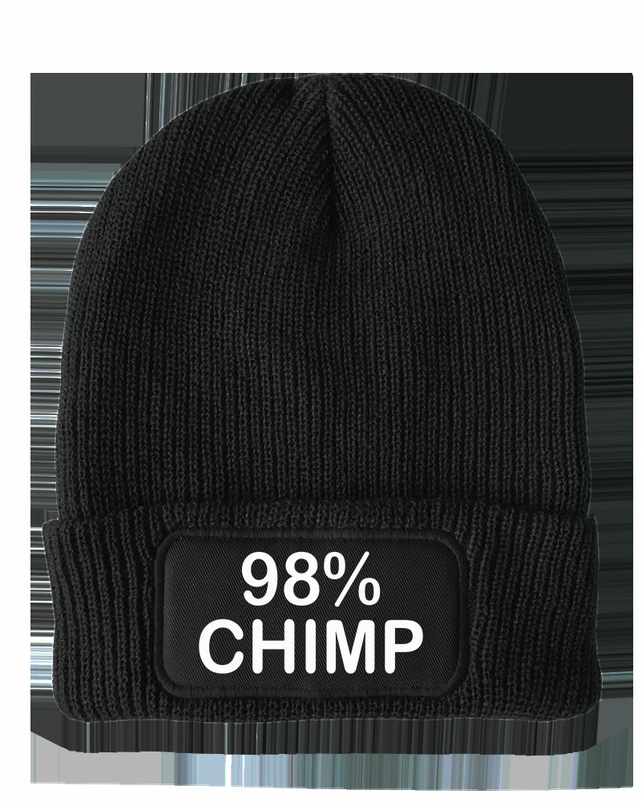 98 percent CHIMP- Funny evolution Unisex Winter Thinsulate Beanie Hat