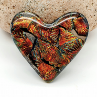 Fused Glass 'Heart to Hold'