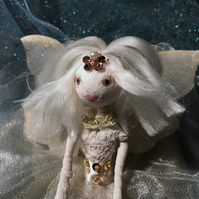 Small Cream & Gold Faerie