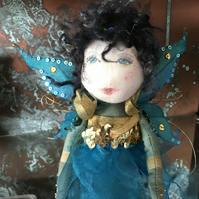 Blue Christmas Faerie