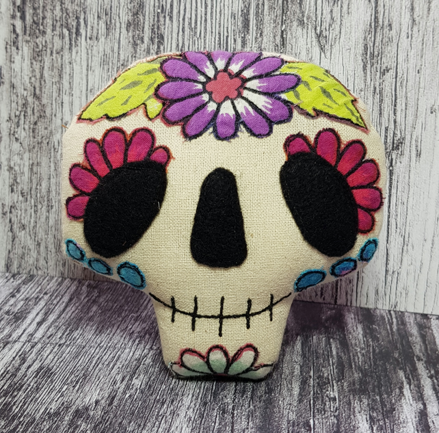 Candy Skull Halloween Decoration
