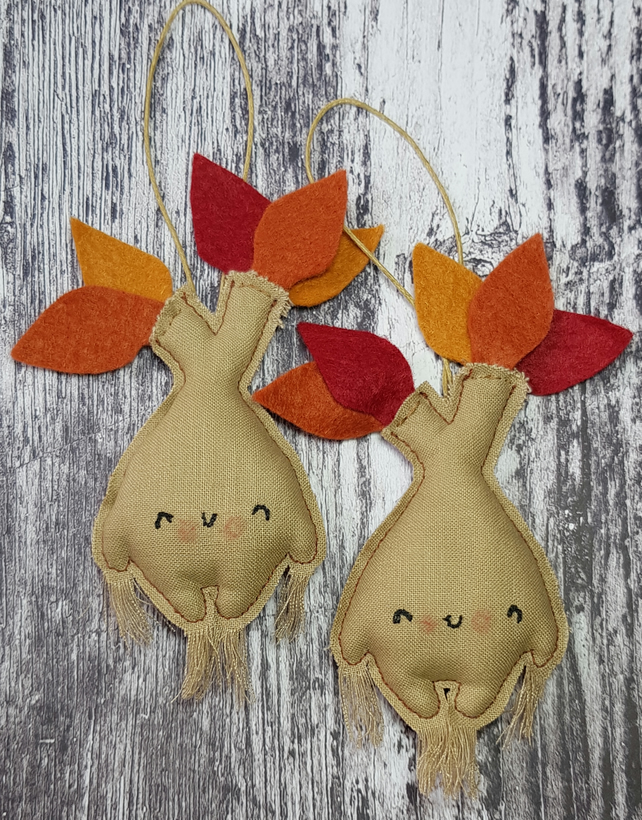 Autumn Mandrake Hanging Decoration