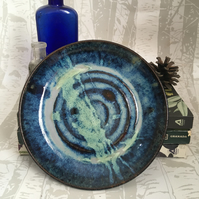 Wheel Thrown Side Plate - Siren