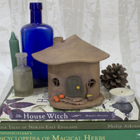 Witch's Cottage Tea Light Holder - 4