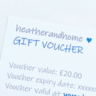 GIFT VOUCHER - for heatherandhome