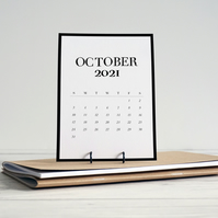 2021 desk reference desktop calendar