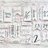 Luxury Advent Calendar Gift Tags