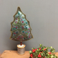 Cotton reel Christmas tree - Light slate grey bobbin