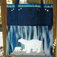 Fluffy Polar Bear Shoulder Bag