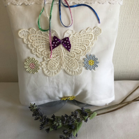 Lavender pillow, lavender sac, sleep aid.