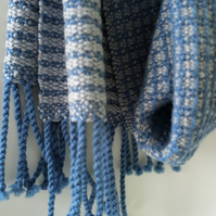Solstice, Handwoven Pure Wool Scarf