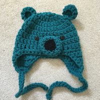 Baby Bear Hats - 0 to 3 months Dark Green