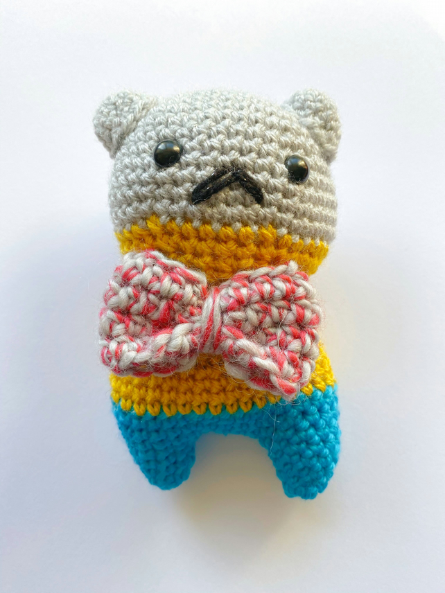 Amigurumi Heritage Bear Collectable Handmade Crochet