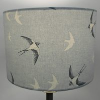 Swallow Birds Handmade Lampshade, Drum or Empire Shapes