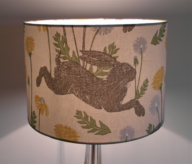 March Hares Handmade Lampshade