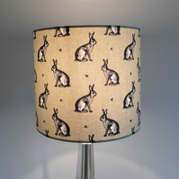 Sage Country Bunny, Hare, Rabbit Handmade Lampshade