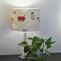Baa Baa Sheep Drum Lampshade