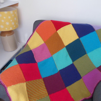 Handknitted small blanket