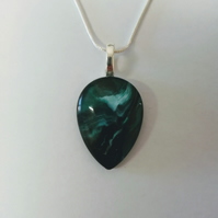 Lovely Green Pendant Necklace, Gift for Women Christmas Gift Unique