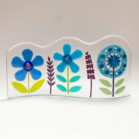 Fused Glass Botanicals Wave 2 - Handmade Glass Sculpture