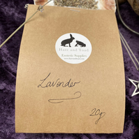 Dried Lavender for incense 20g