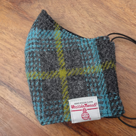 Harris Tweed Face Mask size MEDIUM