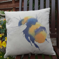 Bumblebee Cushion