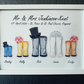A4 Wellie Bridal Party frames