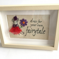 gift, gift for friend, mouse, mouse gift, fairytale picture