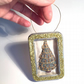 Christmas tree in a tin, Christmas decoration, hanging decoration